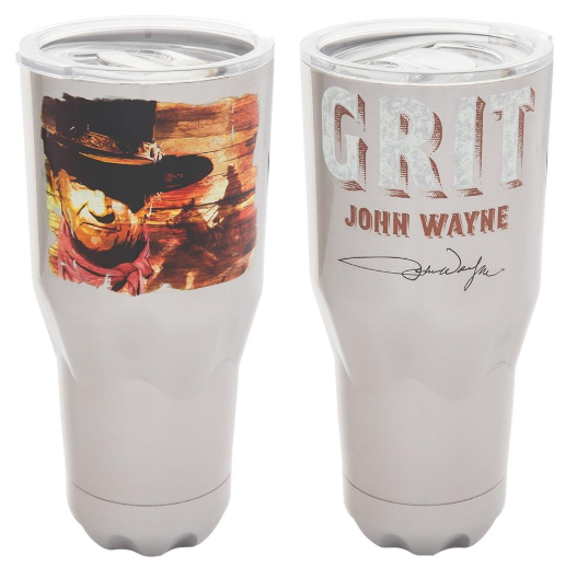 Vandor John Wayne 30 Oz Stainless Travel Tumbler