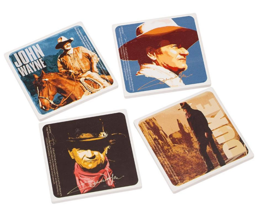 Vandor John Wayne Ceramic Coaster Set