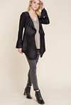 Vocal Apparel Women's Suede Jacket - Black