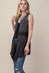 Vocal Apparel Women's Lace Vest