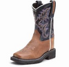 Old Western Youth Square Toe Western Boot