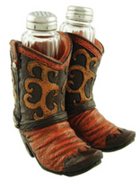 Wilcor International Cowboy Boots Salt & Pepper Set