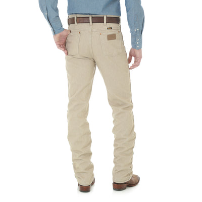 Wrangler Men's Cowboy Cut Slim Fit Western Jeans - Tan