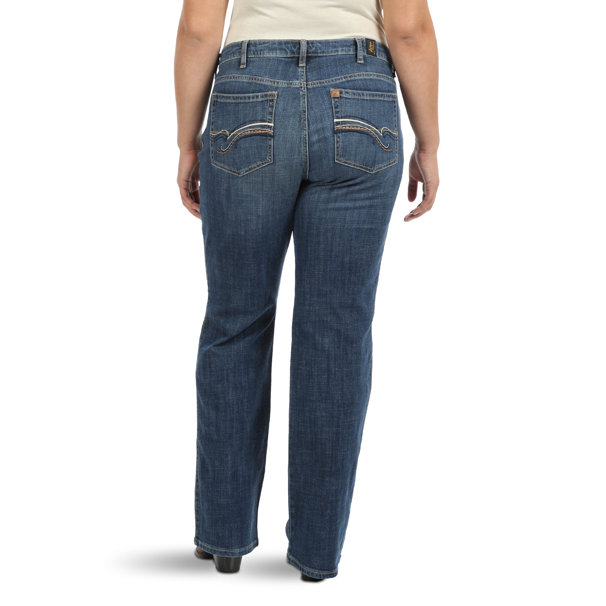 Wrangler Women's Aura Instantly Slimming Jeans - Plus