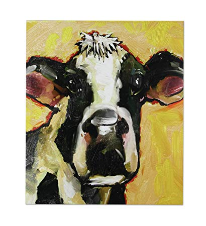 Young's Inc Cow Wall Canvas Art - IN STORE PURCHASE ONLY!