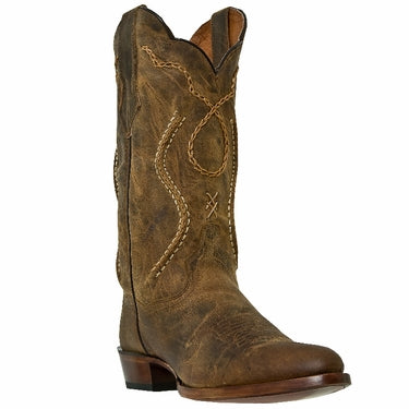 Dan Post Mens Albany Tan Western Boot