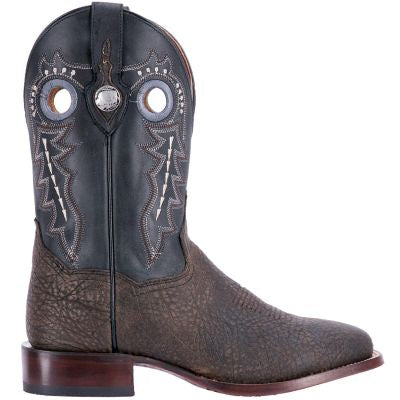 Dan Post Men's Oiled Distressed Stockman Boots