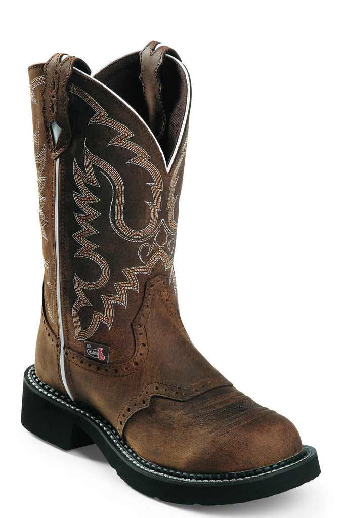 Justin Women's Gypsy Aged Bark Western Boot
