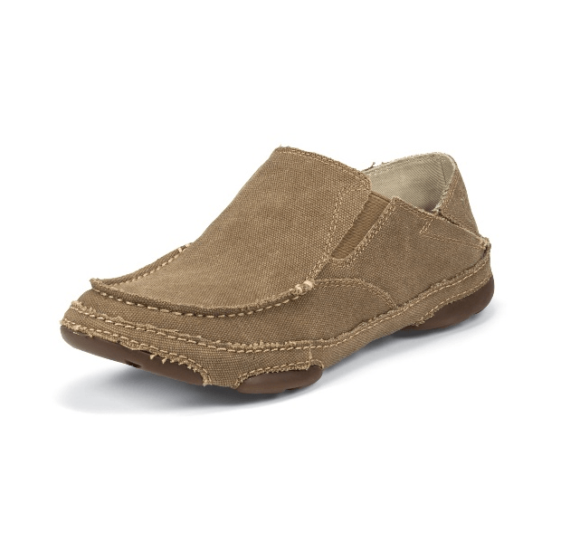 Tony Lama Men's Canvas Slip-On Shoe