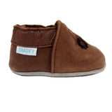 Smokey Mountain Boots Brown Pre-Walker Slip-ons