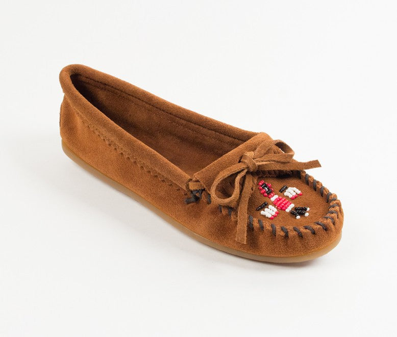 Minnetonka Women's Brown Thunderbird II Moccasin