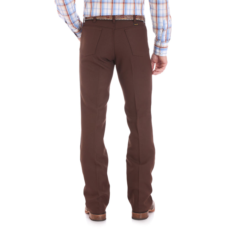Wrangler Men's Wrancher Dress Jean - Brown