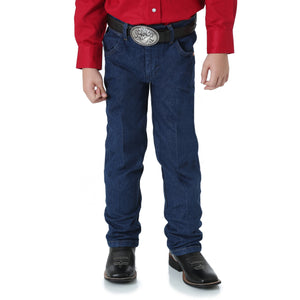 Wrangler Boys' Prewashed Indigo ProRodeo Competition Jean