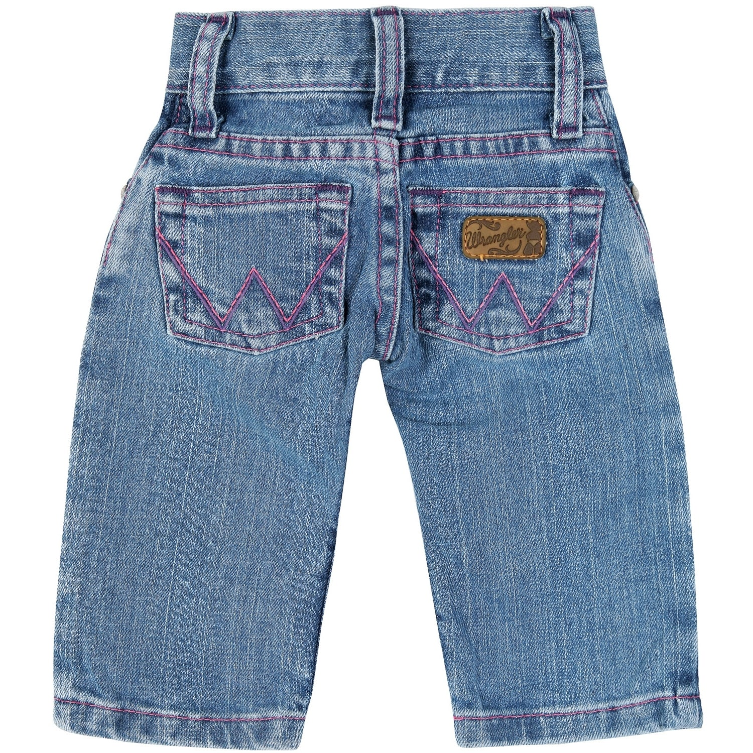 Wrangler Infant/Toddler Girls Five Pocket Blue Western Jean