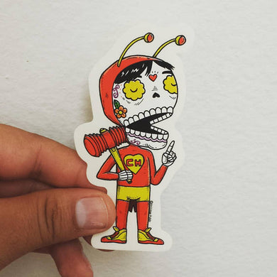 Chapulin Sticker by MisNopales