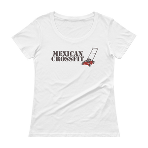 Mexican Crossfit Ladies' Scoopneck T-Shirt