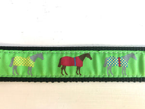 Horse Blanket Ribbon Belt