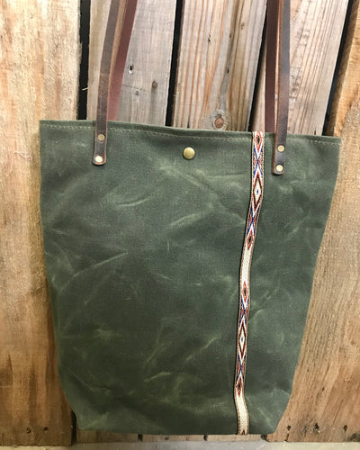 Heritage Waxed Canvas Tote Bag