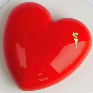 RASPBERRY CHOCOLATE HEART (Single Serve)Valentine's Day Pick Up 8am-3pm)