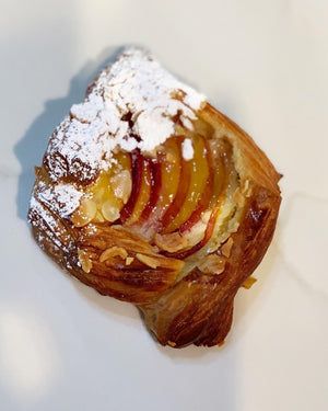 PEACH ALMOND CREAM  DANISH