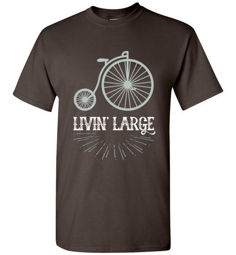 Livin' Large - Vintage Bike Shirt