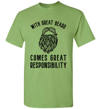 With Great Beard Comes Great Responsibility - Beard Shirt