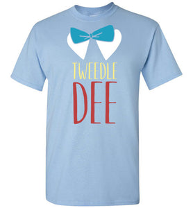 Tweedle Dee - T-shirt His and Hers