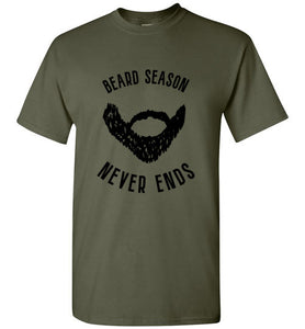 Beard Season Never Ends - Beard Shirt