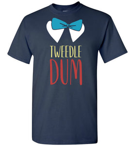 Tweedle Dum - T-shirt His and Hers