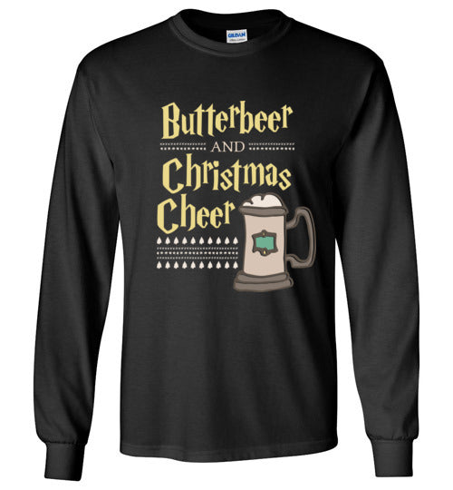 Butterbeer and Christmas Cheer - Harry Potter Christmas Kids Shirt