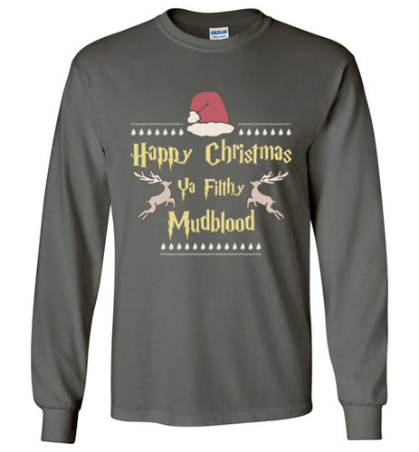 Merry Christmas Ya Filthy Mudblood - Harry Potter Christmas Shirt