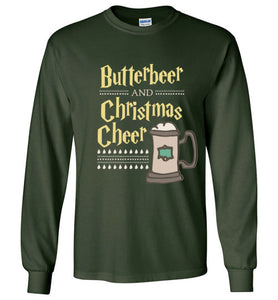 Butterbeer and Christmas Cheer - Harry Potter Christmas Shirt