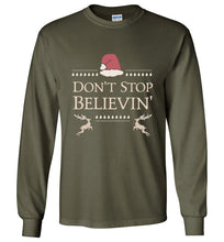 Don't Stop Believin' - Christmas Shirt