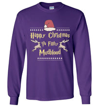Merry Christmas Ya Filthy Mudblood - Harry Potter Christmas Kids Shirt