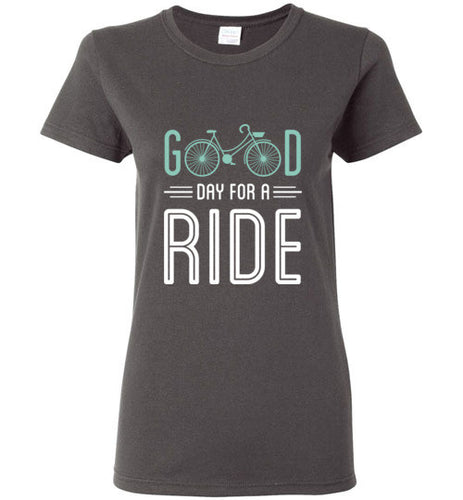 Good Day for a Ride - Ladies Cycling Shirt