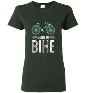 Born to Bike - Ladies Cycling Shirt