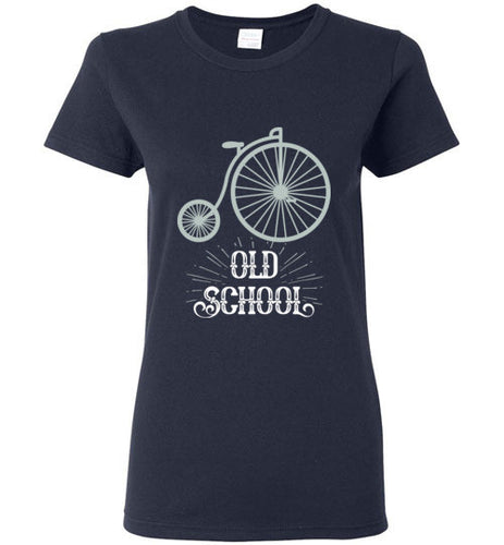 Old School - Ladies Vintage Bike Shirt