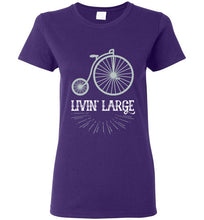 Livin' Large - Ladies Vintage Bike Shirt
