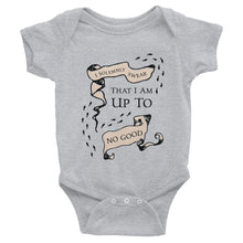 I Solemnly Swear That I am Up To No Good - Harry Potter Baby Onsie