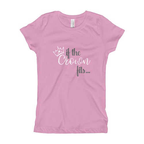 If The Crown Fits - Girl's T-Shirt