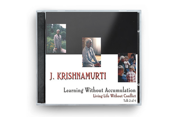 Learning without Accumulation (Living Life without Conflict - Talk 2)