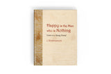 Letters to a Young Friend (Happy is the Man who is Nothing) - NEW EDITION
