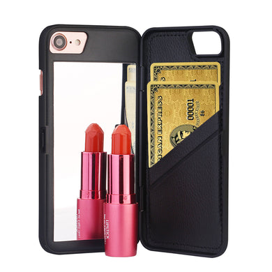 Mirror and Card Slot Phone Case