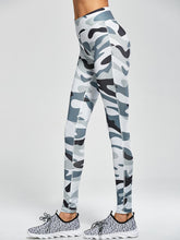 White Camo Workout Leggings / Yoga Pants