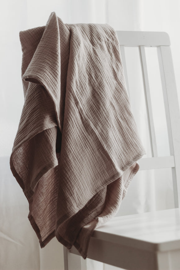 Simple Swaddle in Dusty Lavender