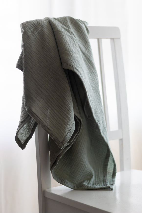 Simple Swaddle in Sage