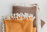 Tassel Trim Layered Gauze Quilts (Design Your Own Preorder)