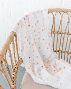 Simple Swaddle in Peachblossom