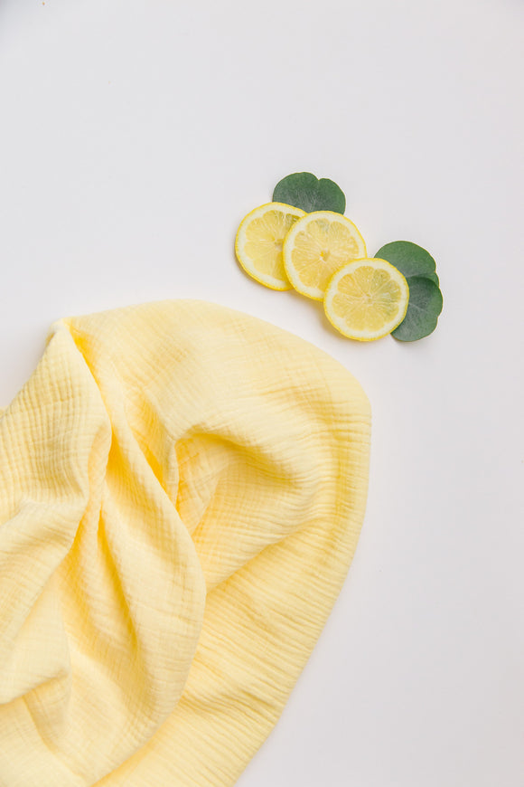 Simple Swaddle in Lemon Drop