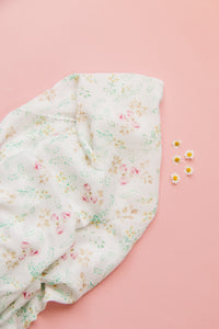 Bamboo Swaddle in Peony Blossom